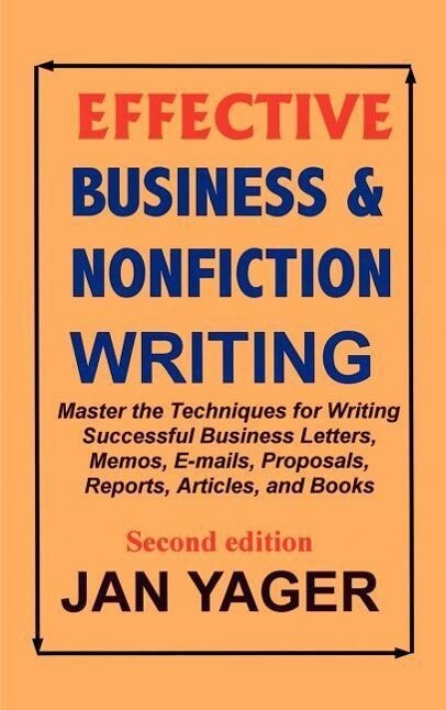 Effective Business & Nonfiction Writing als Buch