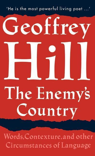 The Enemy's Country: Words, Contexture, and Other Circumstances of Language als Buch