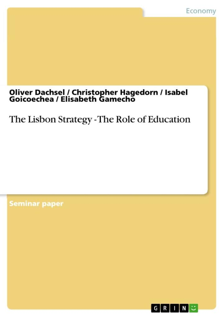 The Lisbon Strategy - The Role of Education