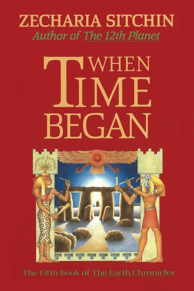 When Time Began als Buch