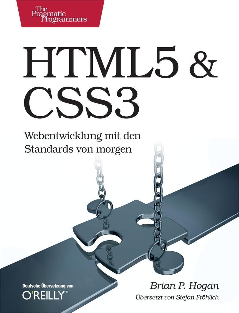 HTML5 & CSS3 (Prags) als eBook von Brian P. Hogan