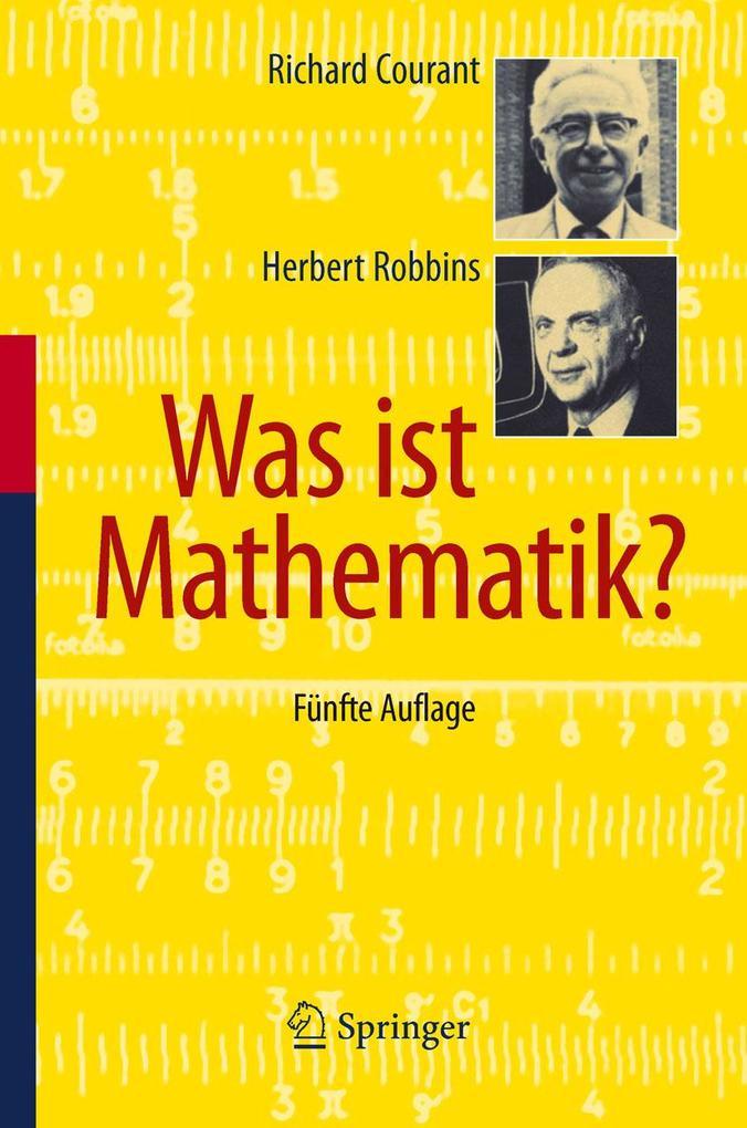 Was ist Mathematik? als eBook
