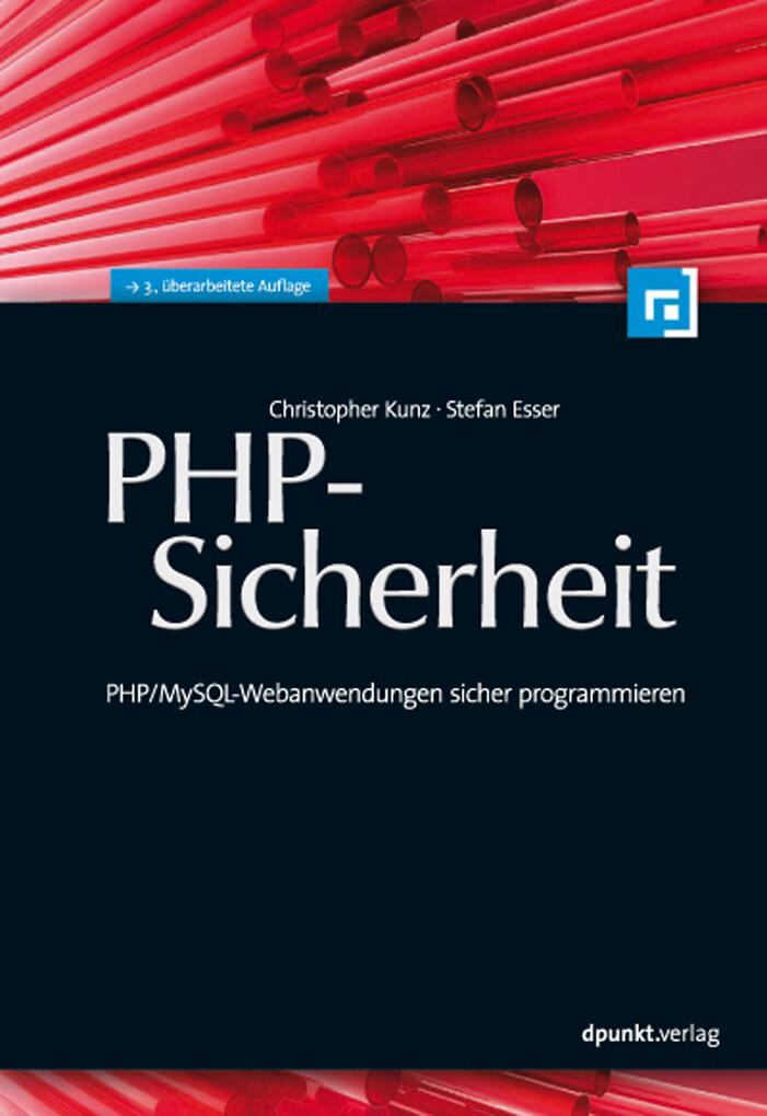 PHP-Sicherheit als eBook von Christopher Kunz, ...