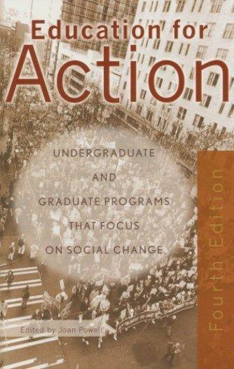 Education for Action: Undergrate and Graduate Programs That Focus on Social Change als Taschenbuch