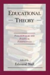 Educational Theory als Taschenbuch