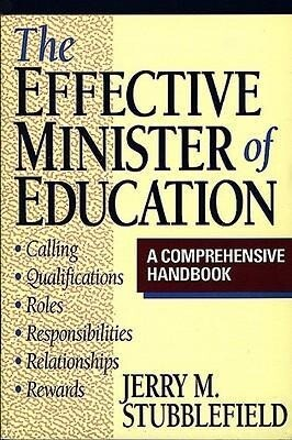 The Effective Minister of Education als Taschenbuch