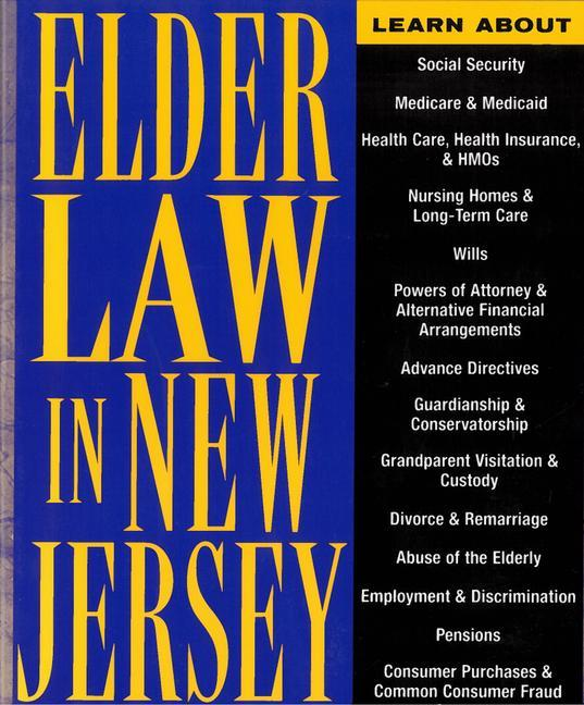 Elder Law in New Jersey: Finding Solutions for Legal Problems als Taschenbuch