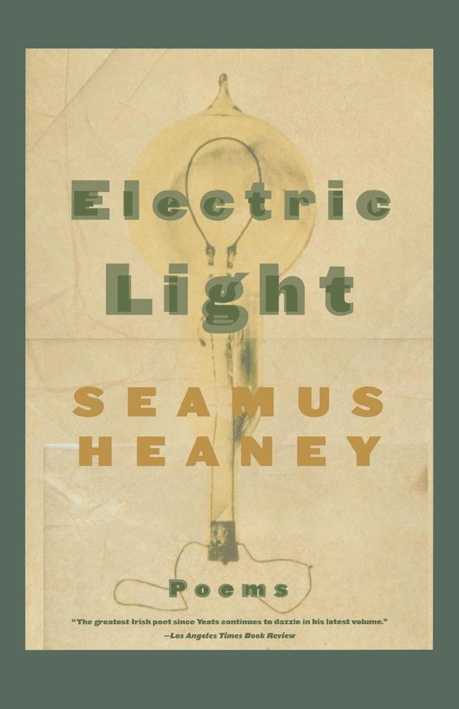 Electric Light: Poems als Taschenbuch