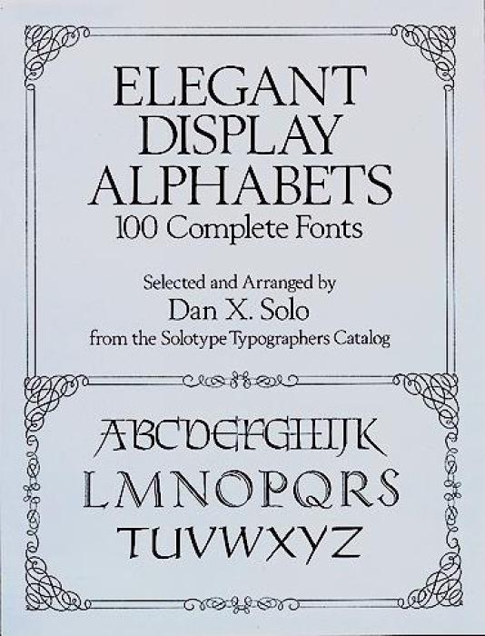 Elegant Display Alphabets als Taschenbuch