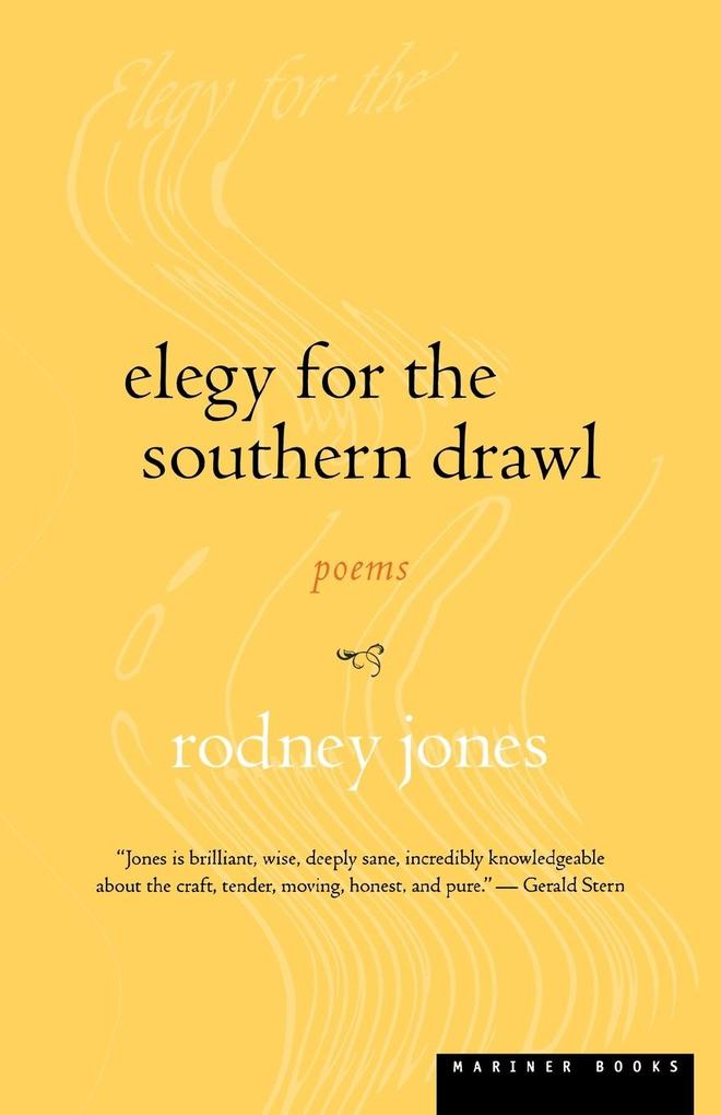 Elegy for the Southern Drawl als Taschenbuch