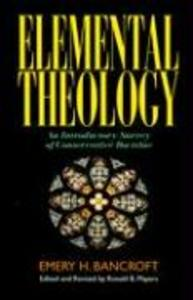 Elemental Theology als Taschenbuch
