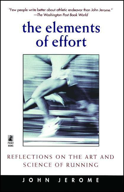 The Elements of Effort: Reflections on the Art and Science of Running als Taschenbuch