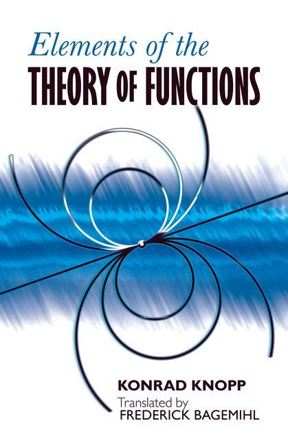 Elements of the Theory of Functions als Taschenbuch