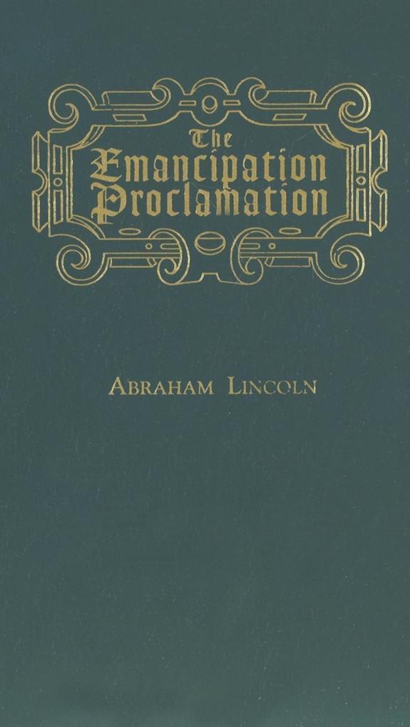 Emancipation Proclamation als Buch
