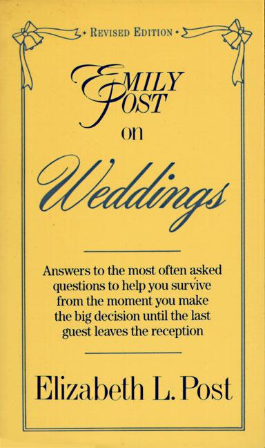 Emily Post on Weddings: Revised Edition als Taschenbuch