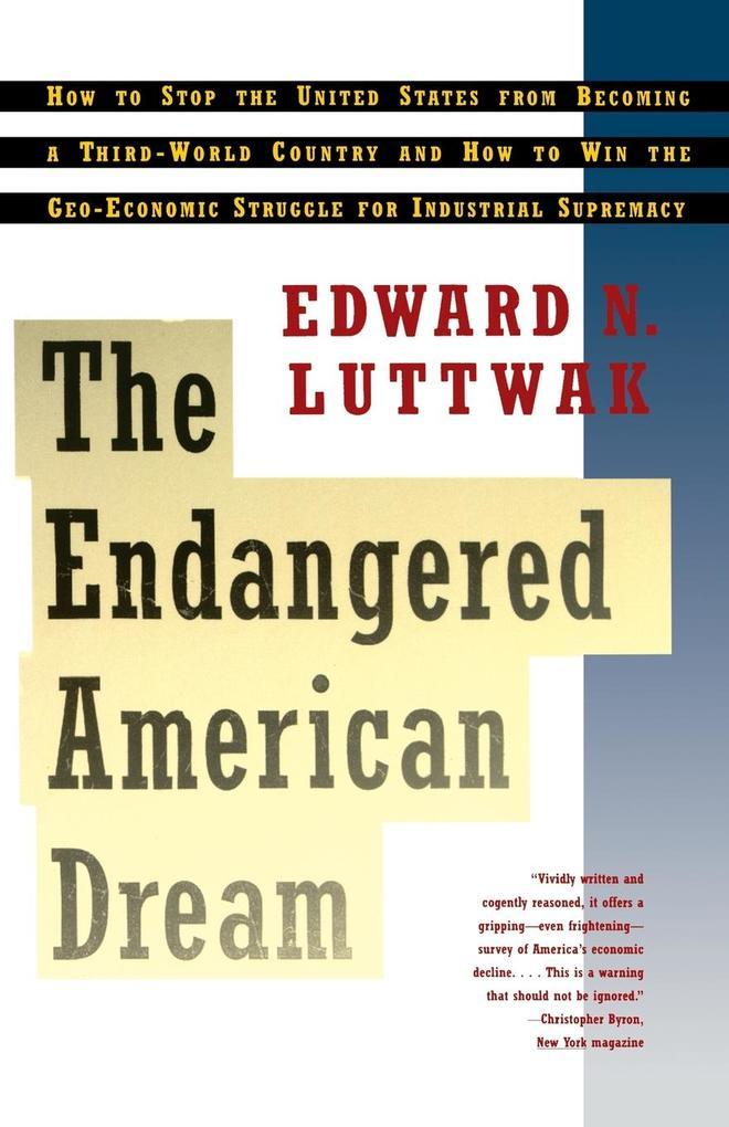 Endangered American Dream als Taschenbuch