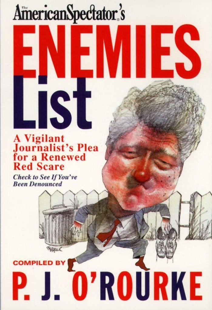 The Enemies List als Taschenbuch