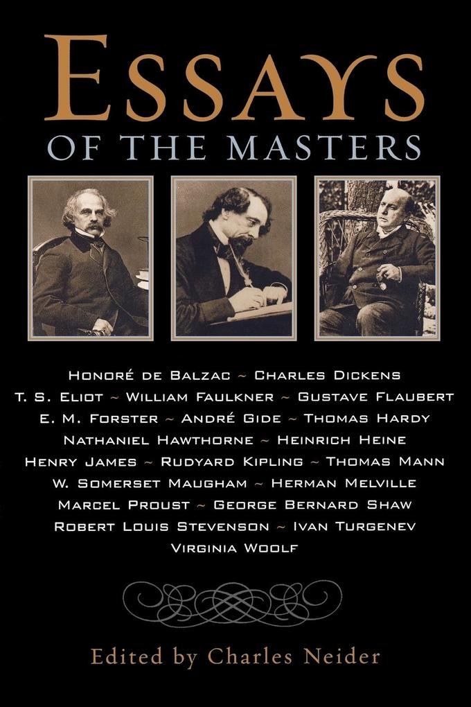 Essays of the Masters als Taschenbuch
