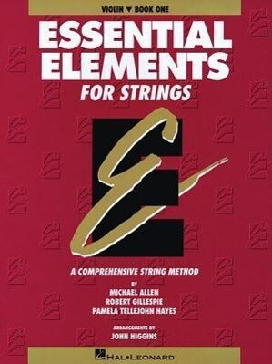 Essential Elements for Strings - Book 1 (Original Series): Violin als Taschenbuch