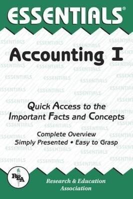 Accounting I Essentials als Taschenbuch