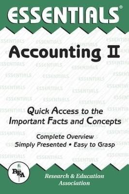 Accounting II Essentials als Taschenbuch