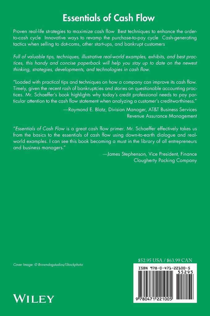 Essentials of Cash Flow als Taschenbuch