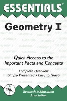 Geometry I Essentials als Taschenbuch