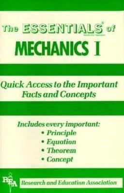Mechanics I als Taschenbuch