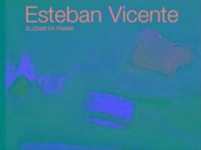 Esteban Vicente als Buch