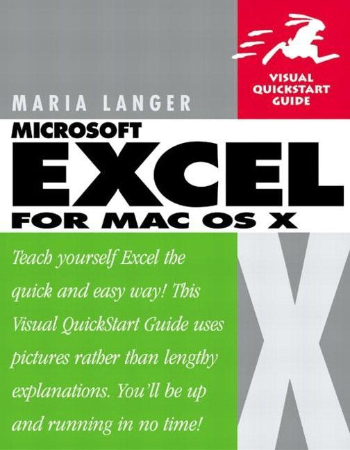 Excel X for Mac OS X: Visual QuickStart Guide als Buch