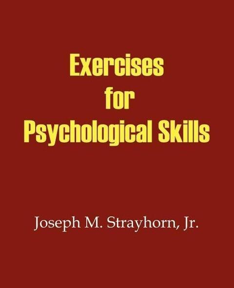 Exercises for Psychological Skills als Taschenbuch
