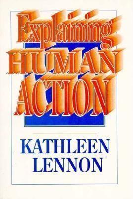 Explaining Human Action als Taschenbuch