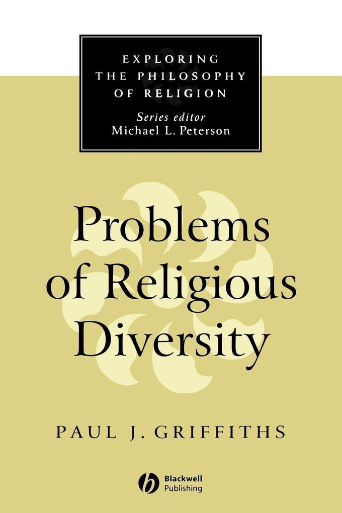 Problems of Religious Diversity als Taschenbuch