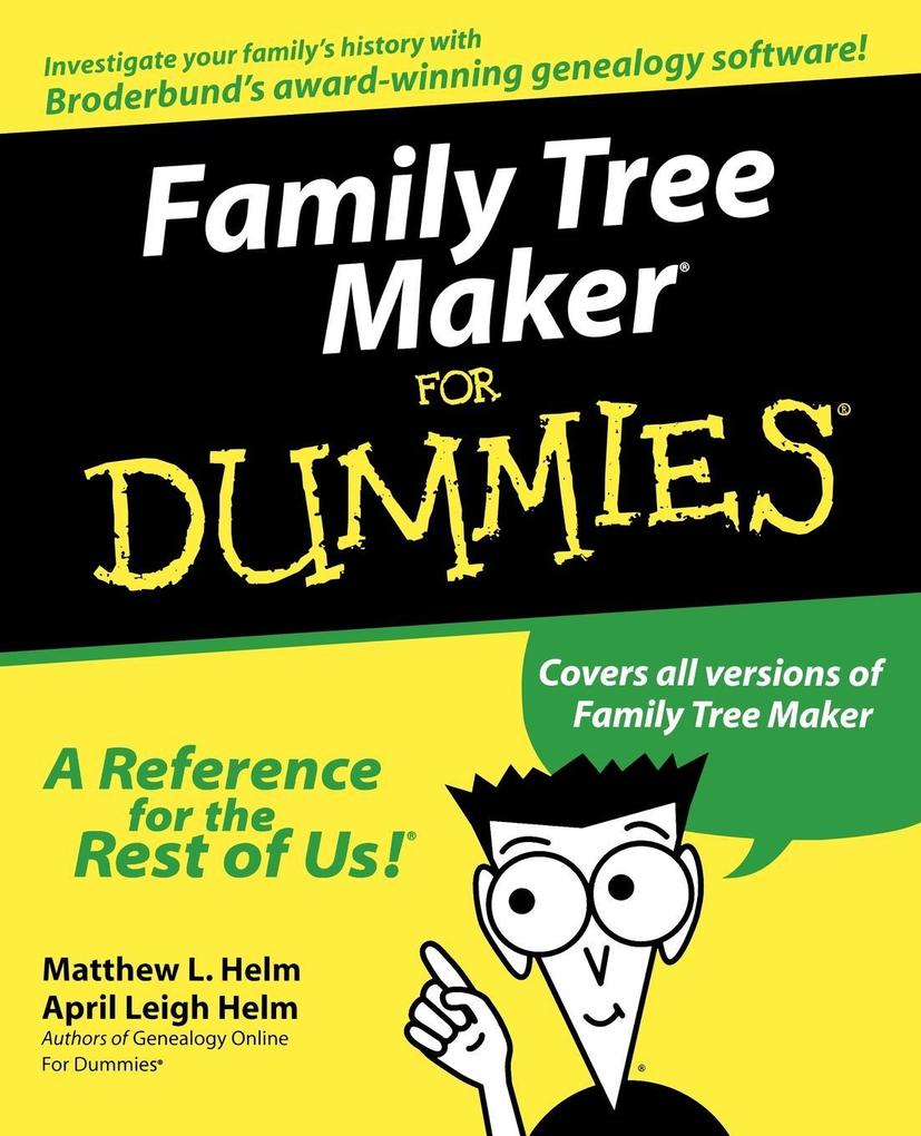 Family Tree Maker For Dummies als Buch