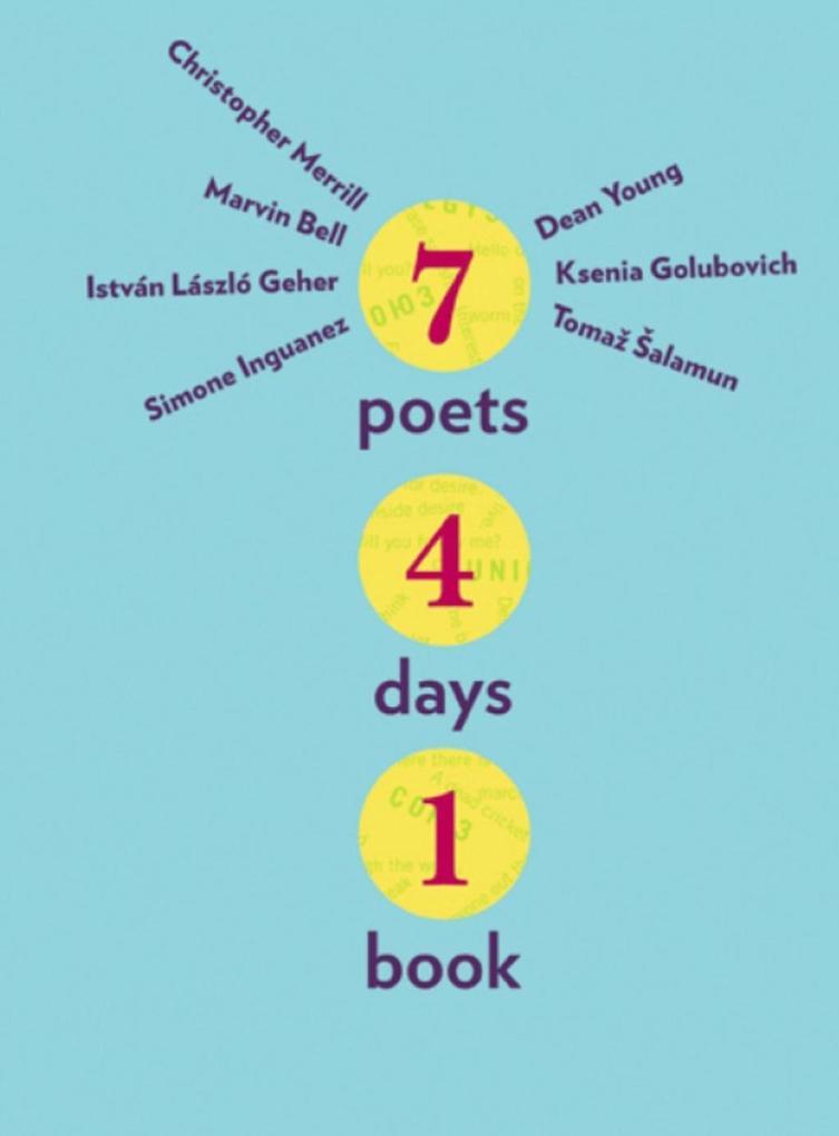 Seven Poets, Four Days, One Book als eBook epub