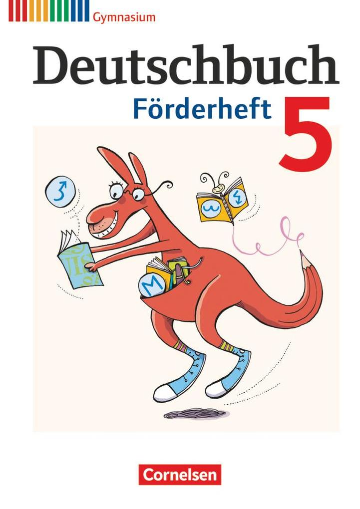 Deutschbuch 5. Schuljahr Gymnasium Förderheft als Buch (kartoniert)