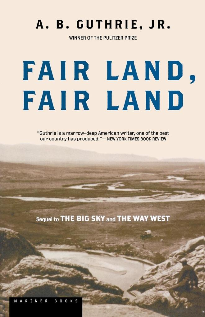 Fair Land, Fair Land als Taschenbuch