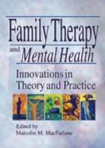 Family Therapy and Mental Health als Taschenbuch