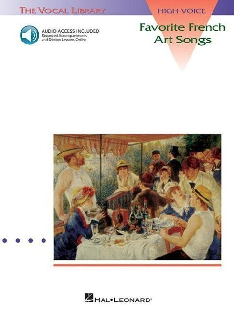 Favorite French Art Songs - Volume 1: The Vocal Library High Voice als Taschenbuch