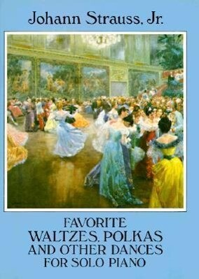 Favorite Waltzes, Polkas and Other Dances for Solo Piano als Taschenbuch