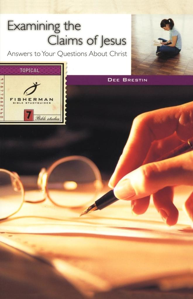 Examining the Claims of Jesus als Taschenbuch