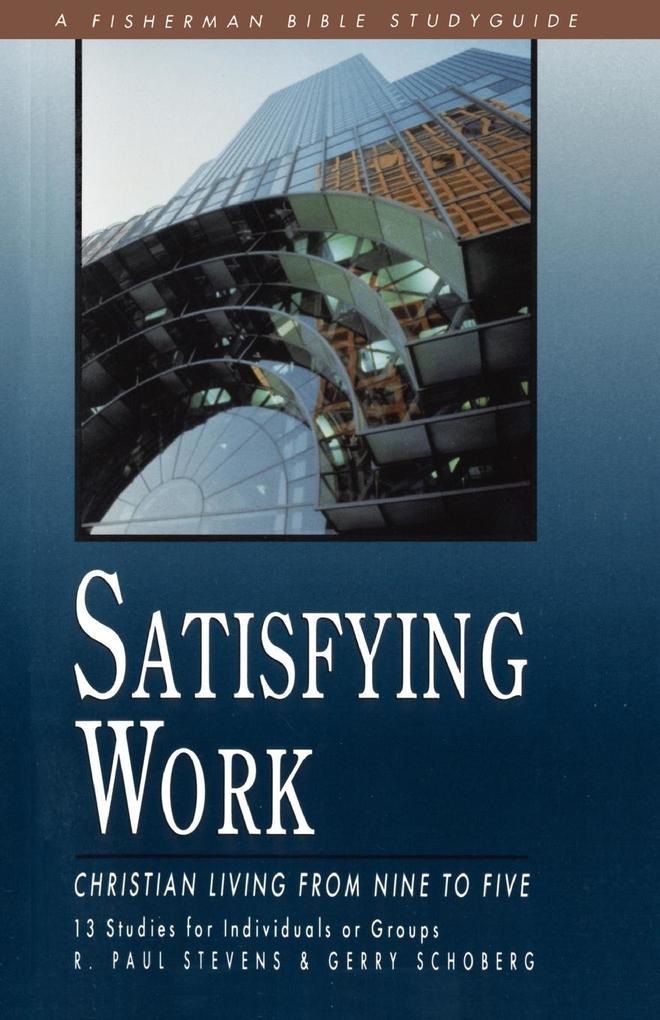 Satisfying Work als Taschenbuch