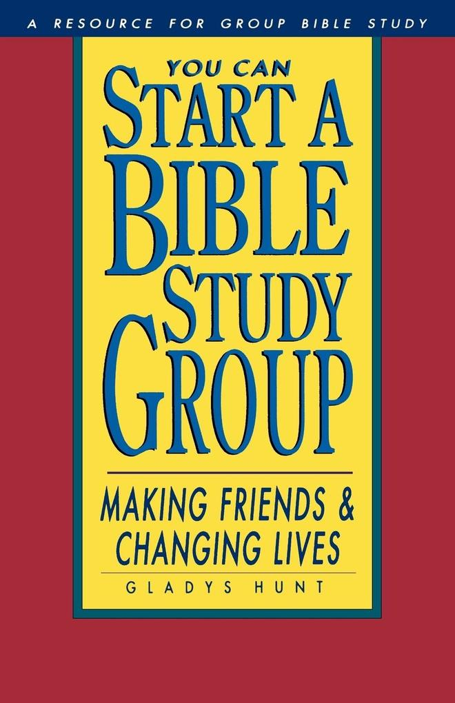 You Can Start a Bible Study als Taschenbuch