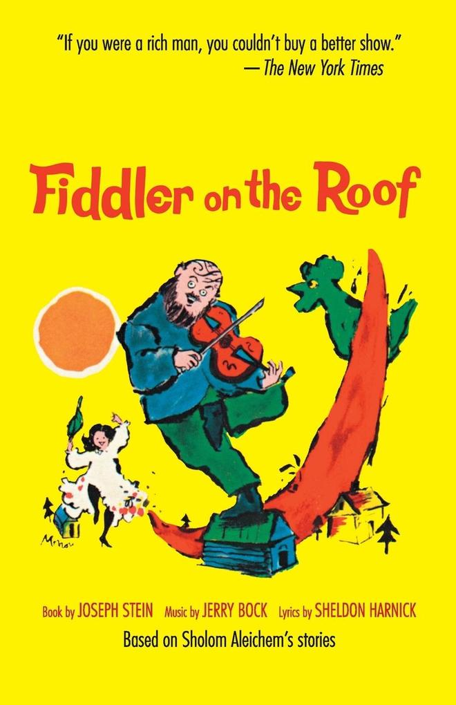 Fiddler on the Roof (Choral Medley): Based on Sholom Aleichem's Stories als Taschenbuch