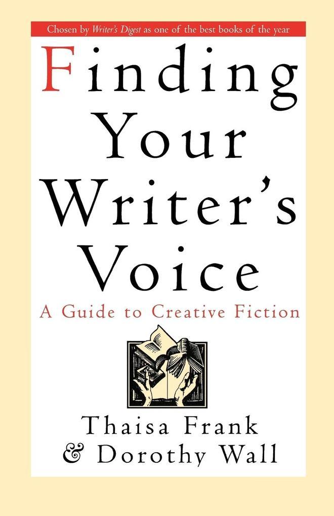 Finding Your Writer's Voice als Taschenbuch