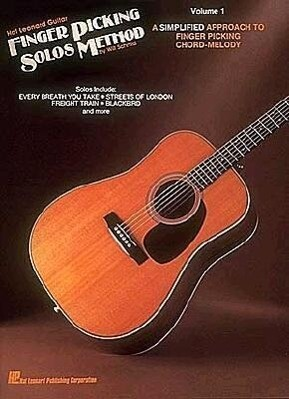 Hal Leonard Guitar Finger Picking Solos Method: Volume 1 als Taschenbuch