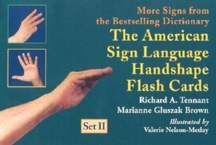 The American Sign Language Handshape Flash Cards Set II als Spielwaren