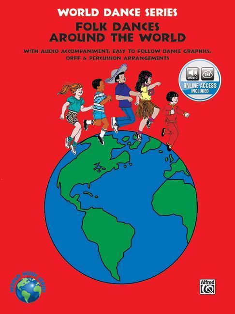 Folk Dances from Around the World: Book & CD als Taschenbuch