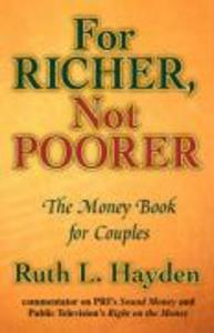 For Richer, Not Poorer: The Money Book for Couples als Taschenbuch