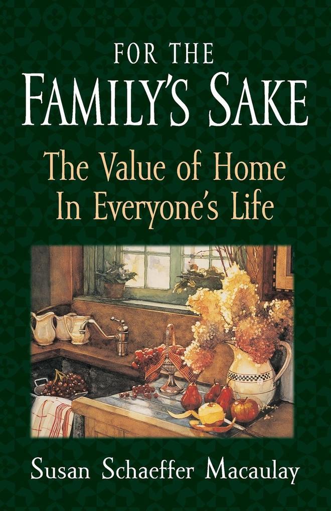 For the Familys Sake als Taschenbuch